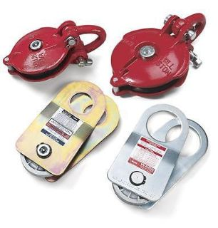 Sell Warn 63490 Snatch Block Red Powdercoated 33000 lb. Capacity Each motorcycle in Tallmadge, OH, US, for US $168.97