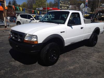 2000 Ford Ranger XL (White)