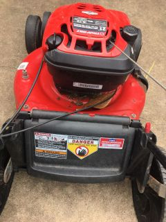 Lawnmower lawn mower Troy Bilt Self Propelled 22 inch