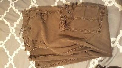 Men's cargo pants size 32x32, light brown