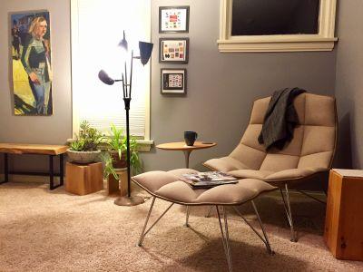Jehs+Laub Lounge Chair & Ottoman