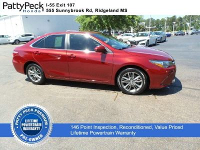 2015 Toyota Camry SE FWD (Ruby Flare Pearl)