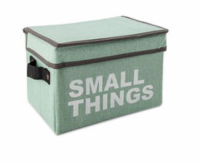New small things storage box with lid