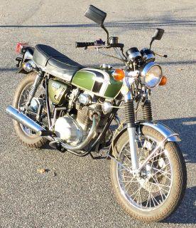 1973 Honda CB350 Street / Supermoto Motorcycles Lowell, NC