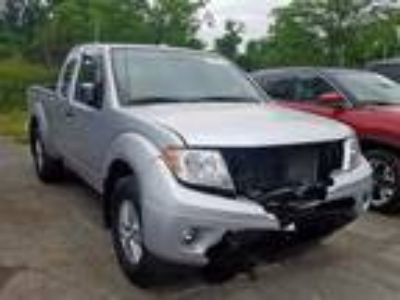 Salvage 2017 NISSAN FRONTIER SV for Sale