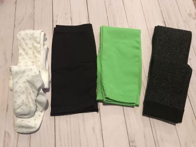 Girls tights, leggings, shorts for under a dress