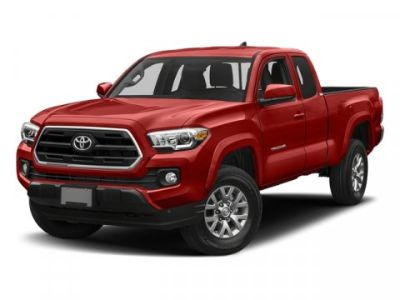 2018 Toyota Tacoma SR5 Access Cab 6' Bed V6 4x4 A (MIDNIGHT BLACK METALLIC)
