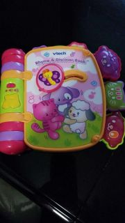 vtech rime and discover book