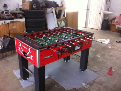 Snap on foosball table limited edition