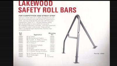 Lakewood roll bar
