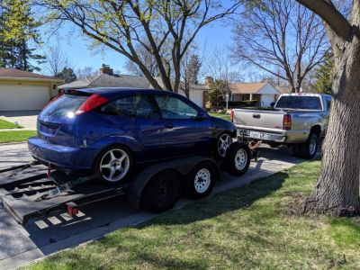 2002 Ford Focus SVT Caged currently not running project