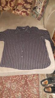 Men's size X - Large Apt. 9 Long - Sleeved Button Up Dress Shirt