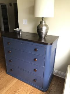 Dresser - all wood, painted