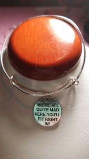 Handmade adjustable bracelet with quotes
