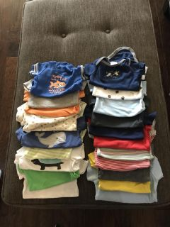 Lot of 3 month onesies and shirts