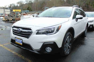 2019 Subaru Outback White, new