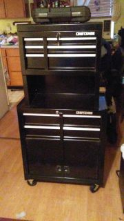 Craftsman 5 drawer stand up tool box on wheels