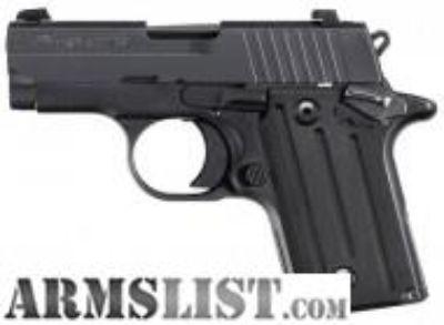 For Sale: Sig P238 NITRON BLACK 238-380-B