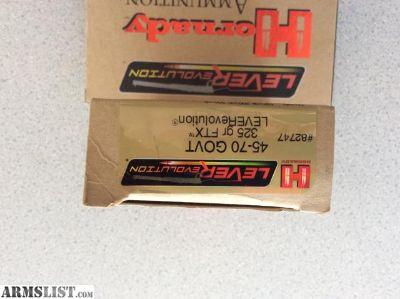 For Sale: 300 Win Mag, 45/70 Govt Ammo