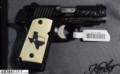 For Sale: Kimber Micro 9 Texas Edition 9mm Pistol LE MICRO9