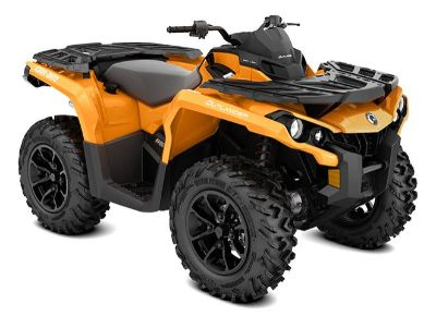 2018 Can-Am Outlander DPS 650 Utility ATVs Weedsport, NY