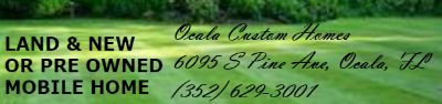 Ocala Custom Homes We are your Jacobsen Homes Factory Outlet