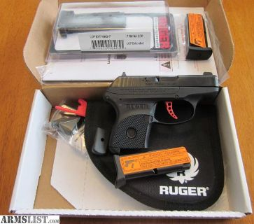 """For Sale: NEW Ruger """"LCP Custom"""" w/ extra mags & holsters"""