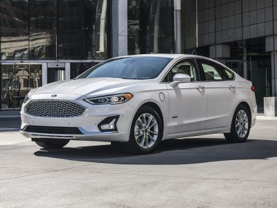 2019 Ford Fusion Energi Titanium (White)