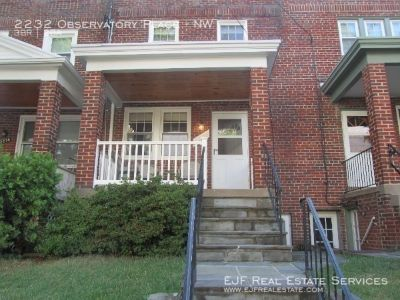 2232 Observatory Pl NW - Three Bedrooms Finished Basement With Washer and Dryer in Unit and Yard!