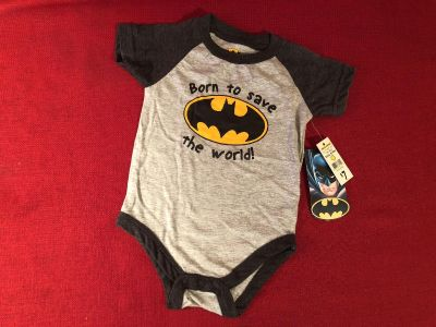 Batman Onesie. Size 6/9 Months. New With Tags