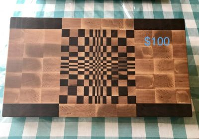 Custome Made Endgrain Butcher Block