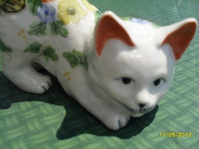 CLEARANCE Andrea by Sadek Porcelain Cat