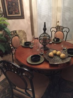 Dining table and chairs Only