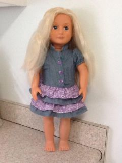 """18"""" Our Generation Doll . See additional pics."""
