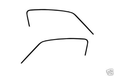 Sell 1967-1968 MUSTANG FASTBACK ROOF RAIL WEATHERSTRIP PAIR motorcycle in Lawrenceville, Georgia, US, for US $44.95