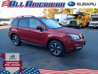 2018 Subaru Forester 2.5i Premium (Venetian Red Pearl)