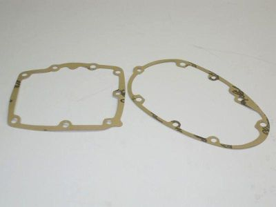 Sell Pre-unit inner and outer gearbox cover gaskets Triumph 650 trans gasket pair motorcycle in Canyon Country, California, US, for US $10.00