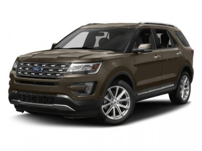 2017 Ford Explorer Limited (INGOT SILVER ME)