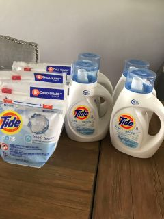 Tide free and gentle, all for $26. Pickup in Freeport. No holds.