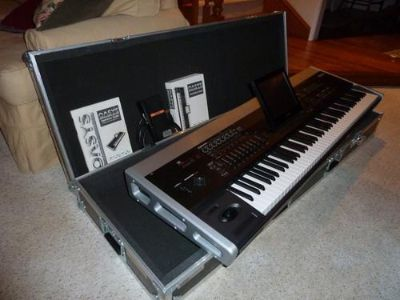 Korg Oasys 88 with HD Road Case  1800
