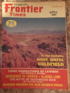 Lots of old 70 s western magazines