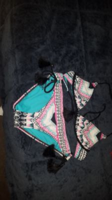 Two pieces swimsuit