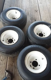 Used Golf Cart Tires with Rims