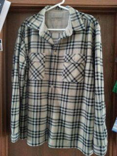 Weathercast light-weight flannel size lg