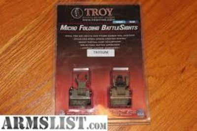 For Sale/Trade: Troy Micro BattleSights tritium night sights