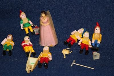 C. 1969 Snow White and Seven Dwarfs Cake Topper (Reduced)