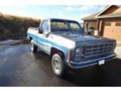 1977 K10 Chevrolet Silverado 4x4 shortbox truck