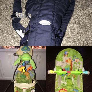 Pre-Owned Baby Swing, Bouncer, Carrier and Saucer