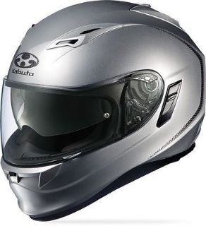 Find Kabuto Kamui Full Face Helmet with Inner Shade Solid Silver motorcycle in Hinckley, Ohio, United States, for US $249.95