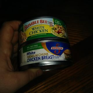 2 cans chicken, thurs swap only